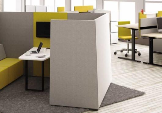 Místa pro telefonování v open space kancelářích