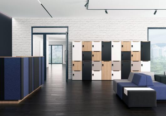 Všestranné řešení úložného prostoru v kanceláři – systém Lockers