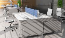 Uzavřené skříňky k pracovním stolům Draco