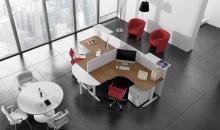 Pohled na tvarované stoly - Taurus