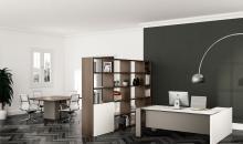 Manažerský nábytek Elegantní a moderní kancelář manažera - Gemini