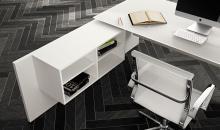 Manažerský nábytek Kovová podnož se dá kombinovat i s plnou podnoží - Gemini
