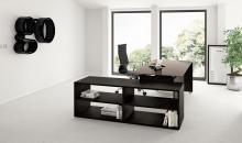 Stůl s otevřenou podstavnou skříní