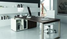 Jednoduchý a moderní manažerský stůl DRACO exe