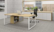 Manažerský stůl MOON s O podnoži