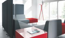 Modulární sedačkový systém OF WL - pro jednání oddělené akusticky