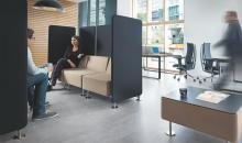 Modulární sedačkový systém OF WL - pro interní porady a jednání