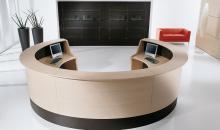 Recepce Crater - designová a moderní