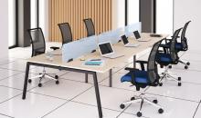 kancelářský nábytek MOON A řešení pro open space sdružené pracoviště