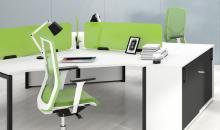 Tvarované stoly MOON U kancelářský nábytek
