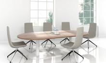 Jednací stoly FORUM na centrální podnoži