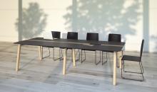 Moon wood jednací stůl - klasický stůl