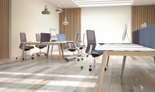 Moon wood jednací stůl - ukázka na kancelářské stoly