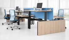 TOP M - výškově stavitelné stoly elektrické - sdružené pracoviště