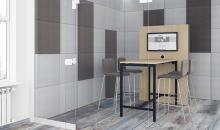 Obložení stěn panely Acoustic MOD light