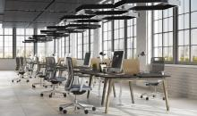 Kancelářský nábytek MOON WOOD - HPL desky