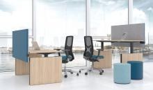 TOP M - výškově stavitelné stoly elektrické - jednotlivé stoly