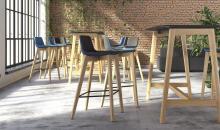 Vysoká židle Tango pro jednání ve stoje
