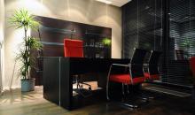 Krofian - manažerský stůl luxusní wenge