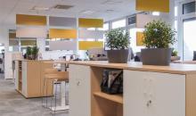 Velkoplošná kancelář Bibus