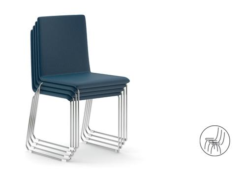 Stohovatelné židle MOON