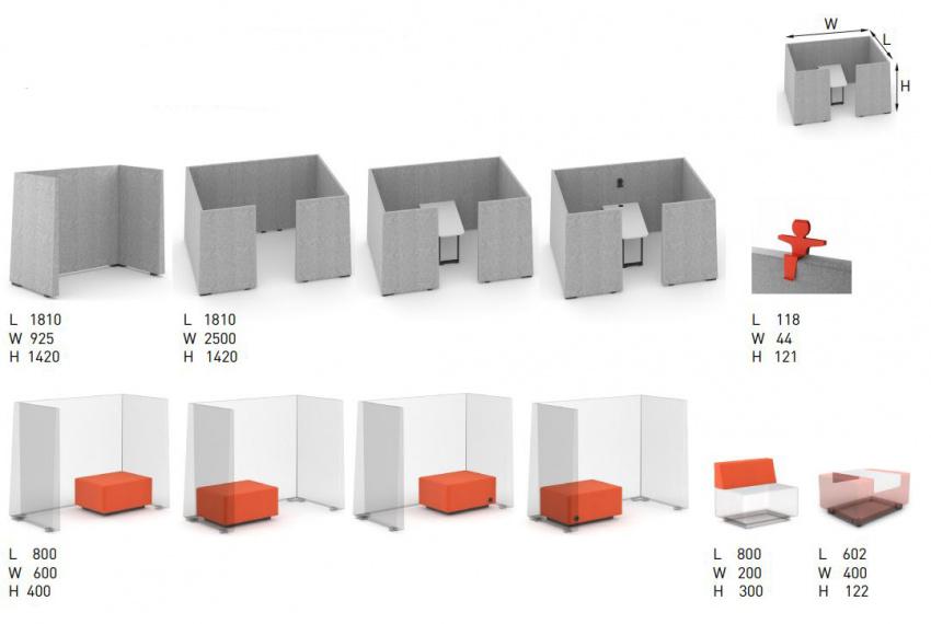 Rozměry Acoustic BOX