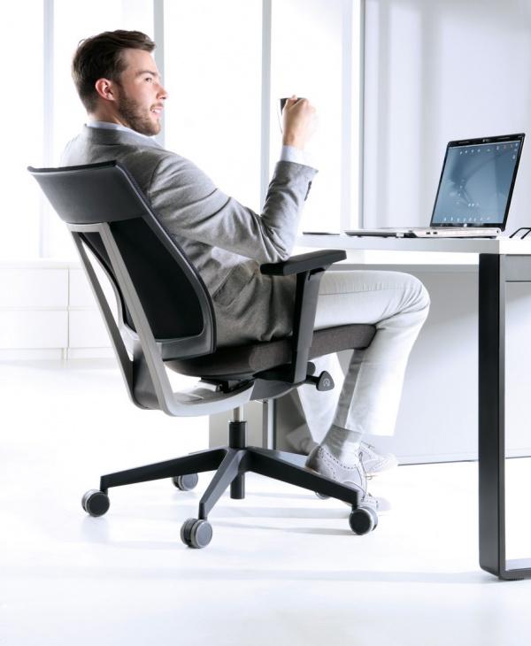 Správné sezení na židli
