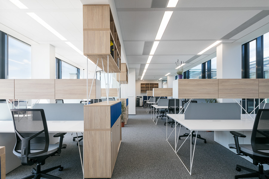 Open space kanceláře - řada Aries