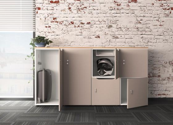 Systém Lockers - řešení úložného místa v kanceláři