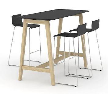 Stůl pro jednání ve stoje