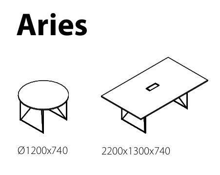Jednací stoly ARIES