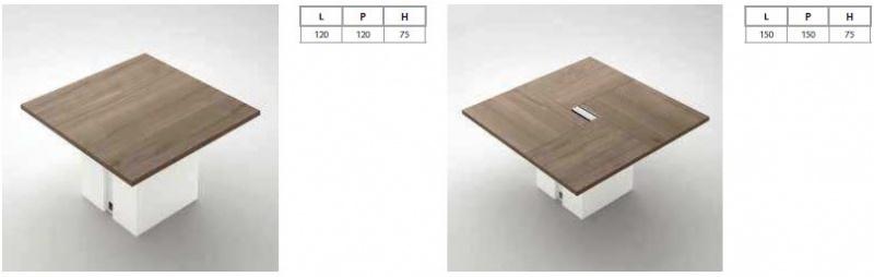 Gemini metal - jednací stoly