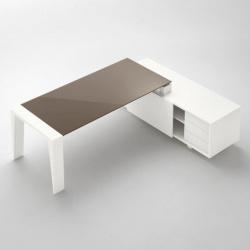 Stůl se skleněnou deskou Gemini