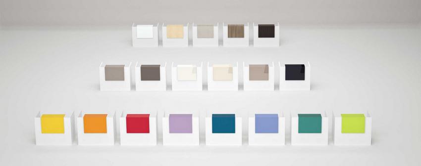 Variace barev recepce Color