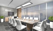 Návrhy kanceláří - Designové provedení jednacího stolu z řady ARA